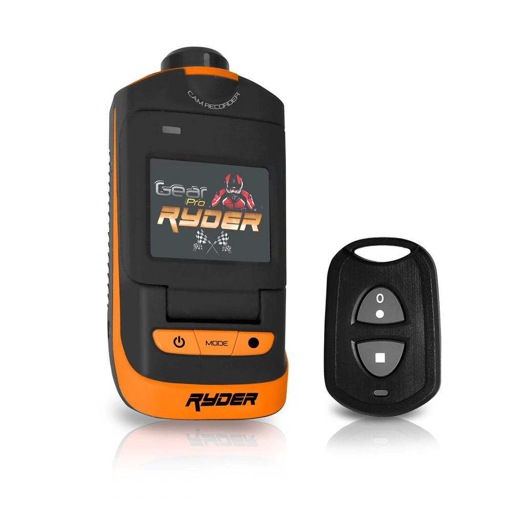 Sound Around GDV786GOR HD Video Recording Gear Pro Ryder Plus Action Cam, GPS Tracking Software, Full HD 1080p Video, 16 MP Images, Fold-Out 1.5-Inch LCD Display