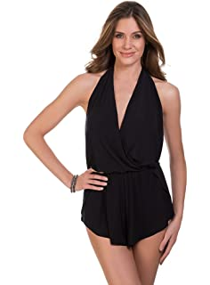 93aafcde7e4 Kenneth Cole REACTION Women's Ready to Ruffle Romper One Piece ...