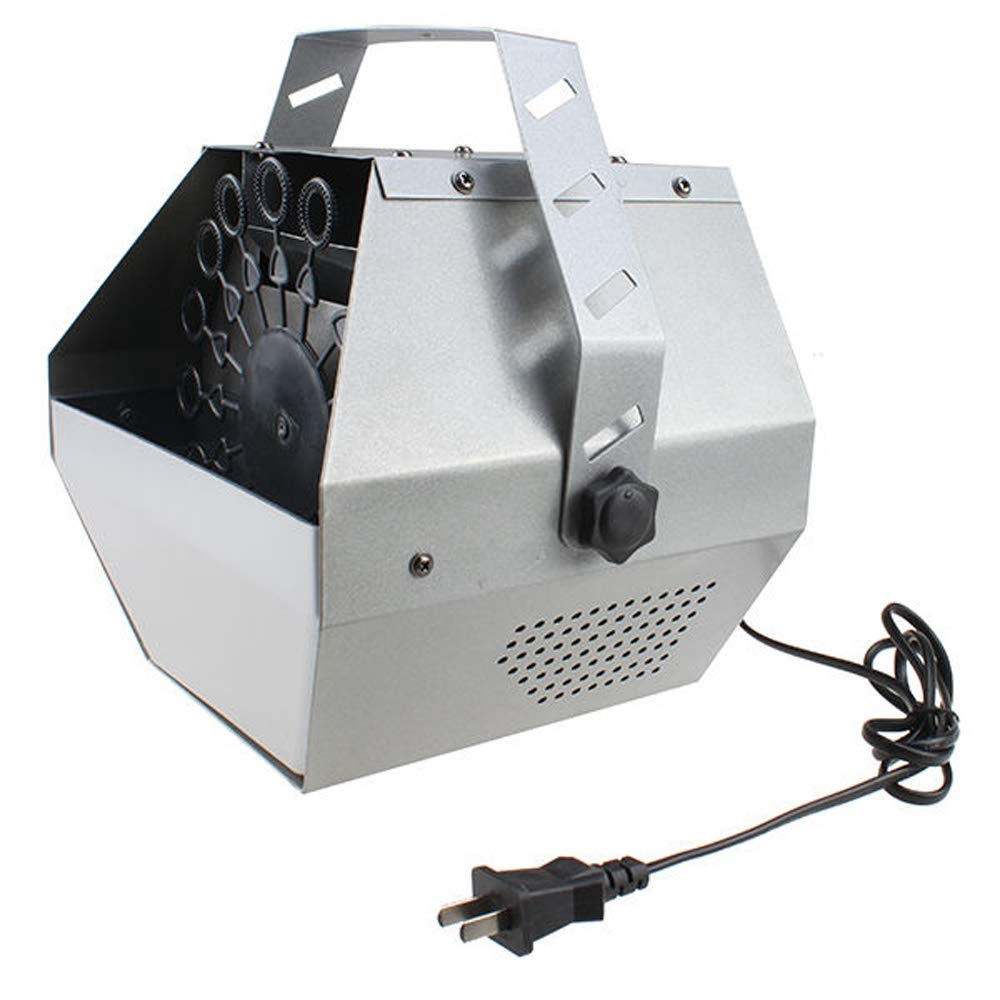 Bubble Machine, 30W Portable Automatic Mini Bubble Maker Machine Auto Blower for Wedding Bar Party Stage Show by Altiaim