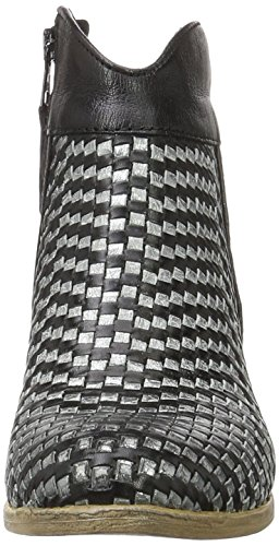 Mjus 790214-0101-0002, Botas Camperas para Mujer Mehrfarbig (Nero Inox)