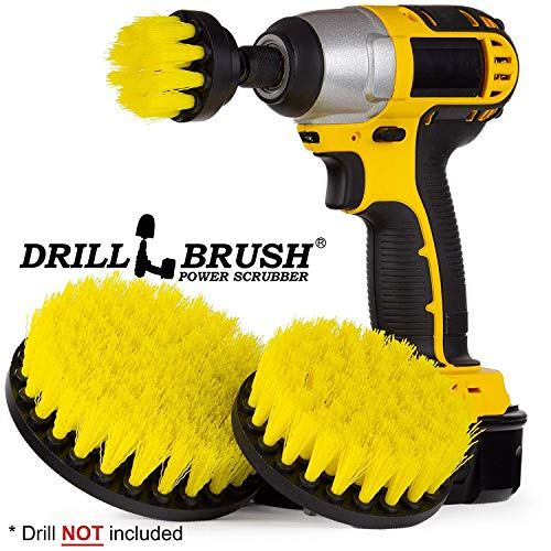 Cleaning Supplies - Drill Brush - Bathroom Accessories - Shower Curtain - Bath Mat - Scrub Brush - Bathtub - Sink - Toilet - Bidet - Flooring - Grout Cleaner - Spin Brush - Bathroom Cleaner