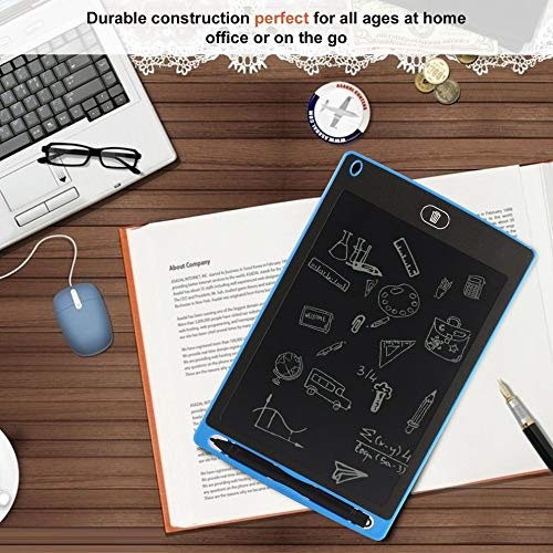 E.I.H. 8.5 inch LCD Writing Board 8.5 inch LCD Writing Memo Board Tablet Office Children Gift Early Education Painting Drawing Board Easy-Writing