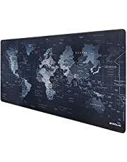 Anpollo Gaming Mouse Mat XXL Large Size 900x400mm Desk Keyboard Mat with Stitched Edges Non Slip