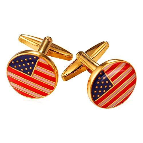 Us Flag Cufflinks - 4