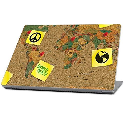 好評 MightySkins Protective for Durable and Unique Vinyl wrap - cover Skin Peace) for Microsoft Surface Laptop (2017) 13.3 - World Peace Yellow (MISURLAP-World Peace) [並行輸入品] B0789974MF, asian closet:0dcd3c93 --- senas.4x4.lt
