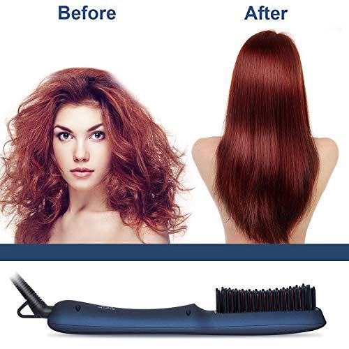 Buy hot hair brush straightener