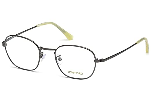 69c5702626 Tom Ford Eyeglasses TF 5335 Eyeglasses 012 Dark gunmetal with beige horn  51mm