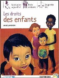 Les droits des enfants par Anne Lanchon