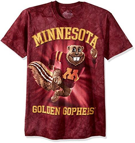 Merchandise Gophers Minnesota - The Mountain Men's University of Minnesota Goldy, Red, 2XL
