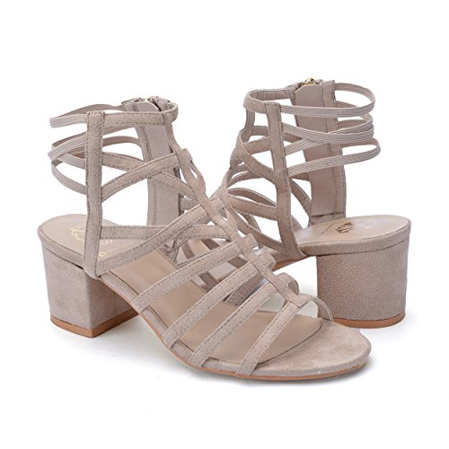 Closed Back Platform Sandal - 6