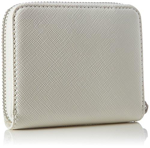 Sansibar Damen Geldbörsen, 12x10x3 cm Weiß (White)