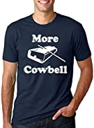 More Cowbell T Shirt Funny Novelty Comedy TV Skit Tee