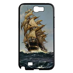 High Quality Phone Case For Samsung Galaxy Note 2 Case -Tall sailing protective case-LiuWeiTing Store Case 7