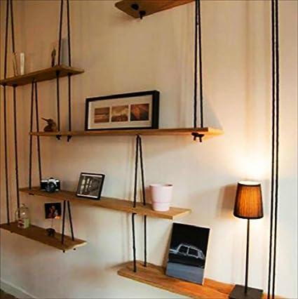 Book Jia librerie Mensola a muro in legno massello con mensole in ...