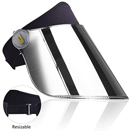 Amazon.com  WAYCOM Sun Cap-360° Rotation Sun Visor Hat UV Protection ... 2036b74887b0