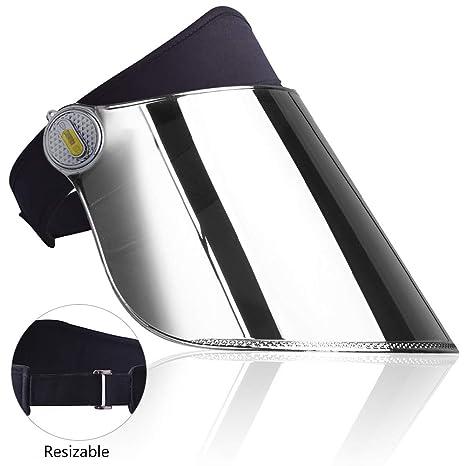 866771d5af434 Amazon.com  WAYCOM Sun Cap-360° Rotation Sun Visor Hat UV Protection ...