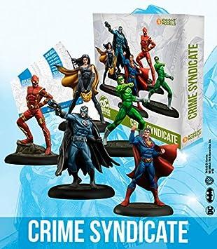 Knight Models Juego de Mesa - Miniaturas Resina DC Comics Superheroe - Batman Crime Syndicate: Amazon.es: Juguetes y juegos