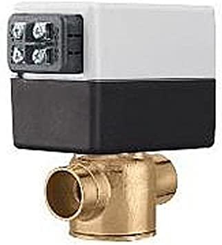 Caleffi Z151000 Z-One 24-Volt Normally Closed Valve Actuator with AUX Switch and Terminal Block