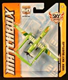 SB94 DRONE (Lime Green) * MATCHBOX 60TH ANNIVERSARY * Die-Cast 2013 MATCHBOX Sky Busters Series Airplane