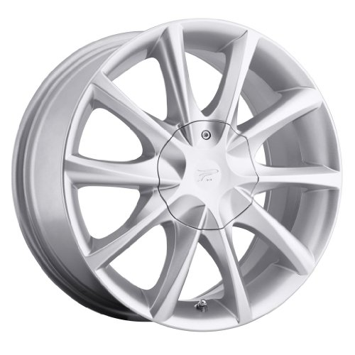 Platinum 081S E-Twine Silver Wheel (17×7.5″/5x108mm, +42mm offset)