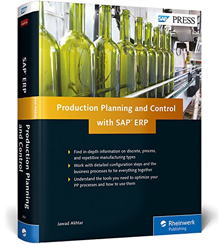 Production Planning and Control with SAP ERP (1st Edition) -