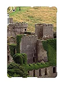 185d0555877 Anti-scratch Case Cover Crooningrose Protective Ruins Wall Castle Landscape Road Case For Ipad 2/3/4