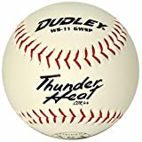 Dudley ASA Certified Thunder Heat Slow Pitch 11'' Softball One Dozen