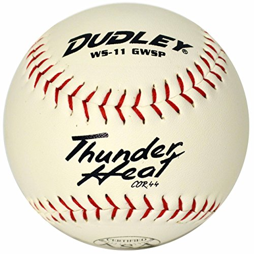 Dudley ASA Certified Thunder Heat Slow Pitch 11'' Softball One Dozen by Dudley