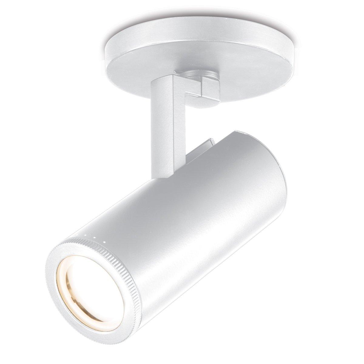 WAC Lighting Paloma MO-4023-927-WT 4023 Adjustable LED Monopoint Finish, 90+ Cri and 2700K, White by WAC Lighting