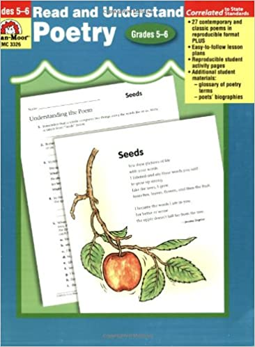 Amazon com: Read and Understand Poetry, Grades 5-6+