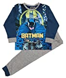 Boys Batman Long Pyjamas Sizes 3 To 10 Years (5-6 Years)