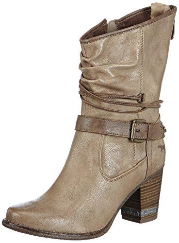 Damen Stiefel Halbschaft Mustang Halbschaft Stiefel Damen Mustang Damen Mustang Halbschaft 55nSTr04