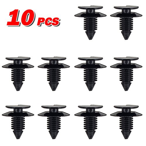 Front Right Door Trim Panel (10pcs Door Trim Panel Body Clips Retainer Fastener for 1991-2015 Jeep Wrangler)