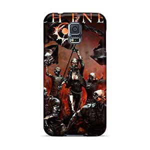 Scratch Protection Cell-phone Hard Cover For Samsung Galaxy S5 With Allow Personal Design High-definition Avenged Sevenfold Image CristinaKlengenberg