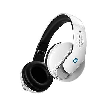 LJSHU Auriculares Inalámbricos Bluetooth Auriculares Control De Volumen USB Micrófono Incorporado Plegable Y Auriculares con Cable