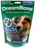 DreamBone Dental Dog Chew, Mini, 16-Pack, My Pet Supplies