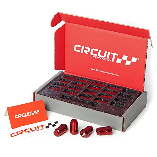 Red Tuner Lugs Nuts - 1