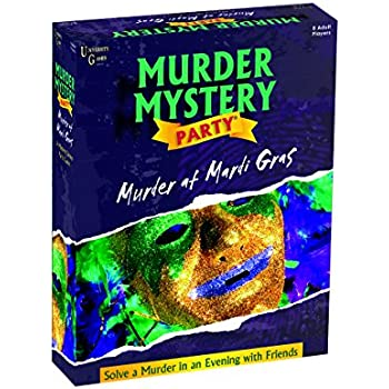 Amazon Com Murder Mystery Party Games Murder At Mardi