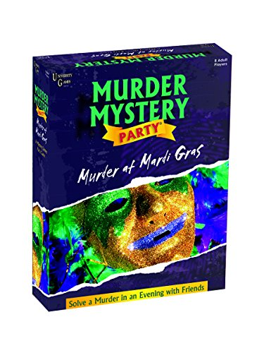 Murder Mystery Party Games - Murder at Mardi Gras -