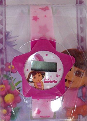 [Nickelodeon Dora the Explorer Kids Digital LCD Watches - Assorted Styles (Pink Star)] (Dora Costume For Kids)