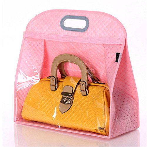 Today's Deal Santwo Handbags Storage Hanging Closet Bag Organizer Purse Holder PVC Bag and Save Space (XL, - Store Fashion Today
