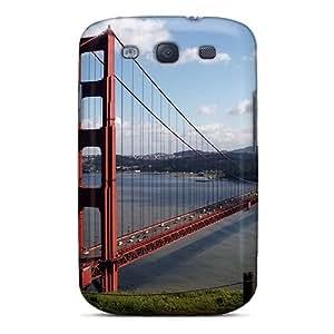 For Galaxy S3 Fashion Design Best Golden Gate Case