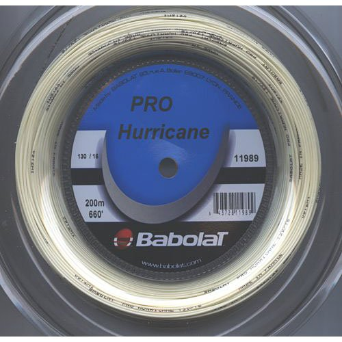 Hurricane Reel - Babolat Pro Hurricane 16G Tennis String REEL Color - Blue