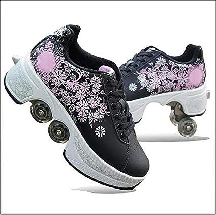 Wedsf Pulley Shoes Skates Kids Roller