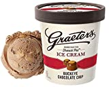 Graeters, Ice Cream Buckeye Chocolate Chip, 16 Ounce