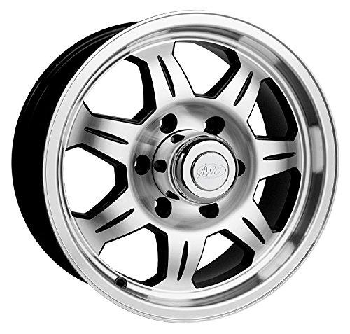 16 x 6 SAWTOOTH 870 Aluminum Trailer Wheel 6 Lug with Center Cap