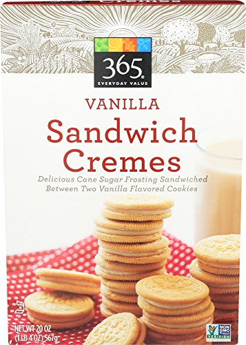 365 Everyday Value, Vanilla Sandwich Cremes, 20 Ounce