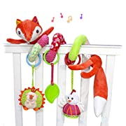 SKK Baby Fox Plush Spiral Activity Toy