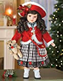 Emma Collectible Porcelain Holiday Doll