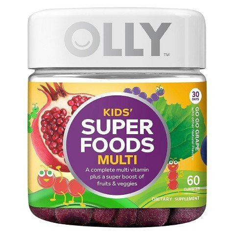 Olly Kids Super Foods Multivitamins - 60 Count by Olly